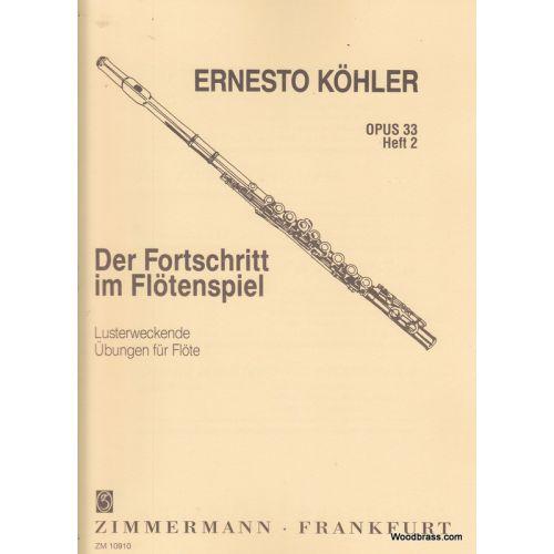 ZIMMERMANN KOHLER ERNESTO - ETUDES OP.33 VOL.2