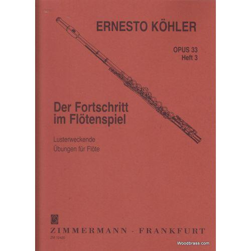 ZIMMERMANN KOHLER ERNESTO - ÜBUNGEN OP.33 VOL.3