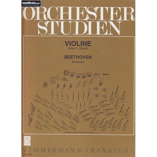 ZIMMERMANN BEETHOVEN L.V. - ORCHESTER STUDIEN - VIOLINE