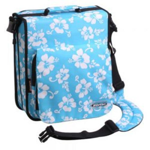 ZOMO CD BAG LARGE PREM FLO BLU