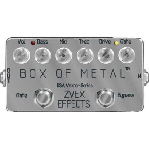 ZVEX USA BOX OF METAL VEXTER