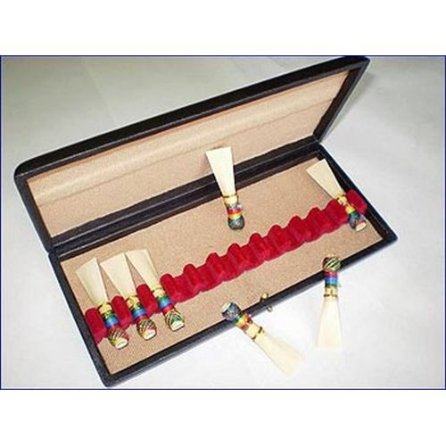 RIGOTTI CASES FOR DOUBLE REEDS BASSOON 10 REEDS