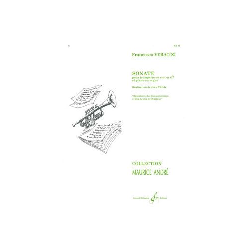 BILLAUDOT VERACINI FRANCESCO - SONATE - COR ET PIANO