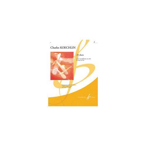 BILLAUDOT KOECHLIN CHARLES - 24 LECONS DE SOLFEGE OPUS 186 VOLUME 2 - ETUDES