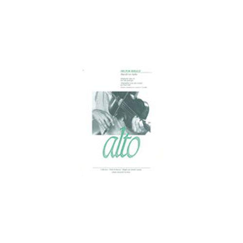 BILLAUDOT BERLIOZ HECTOR - HAROLD EN ITALIE - ALTO ET PIANO
