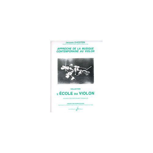 BILLAUDOT APPROCHE DE LA MUSIQUE CONTEMPORAINE - VIOLON
