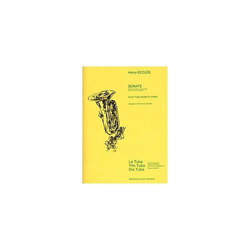 BILLAUDOT ECCLES HENRY - SONATE - TUBA ET PIANO