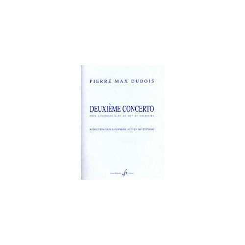 BILLAUDOT DUBOIS P.MAX - DEUXIEME CONCERTO - REDUCTION SAXOPHONE ET PIANO