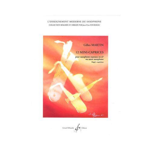 BILLAUDOT MARTIN GILLES - 12 MINI-CAPRICES - SAXOPHONE