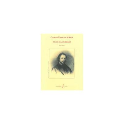 BILLAUDOT ALKAN CHARLES-VALENTIN - ETUDE ALLA BARBARO - PIANO