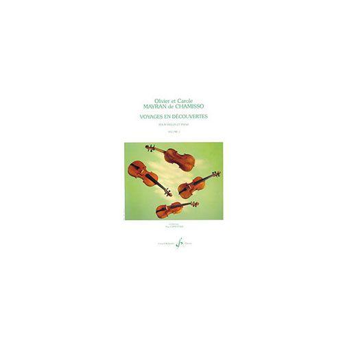 BILLAUDOT MAYRAN DE CHAMISSO OLIVIER ET CAROLE - VOYAGES EN DECOUVERTES VOLUME 1 - VIOLON ET PIANO