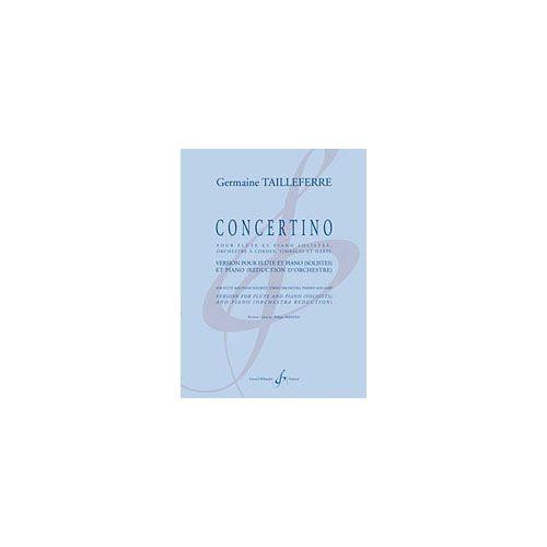 BILLAUDOT TAILLEFERRE G. - CONCERTINO - FLUTE ET PIANO
