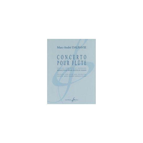 BILLAUDOT DALBAVIE MARC-ANDRE - CONCERTO POUR FLUTE - FLUTE ET PIANO