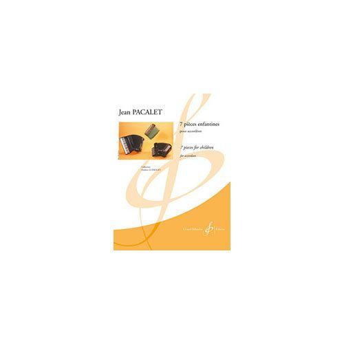 BILLAUDOT PACALET JEAN - 7 PIECES ENFANTINES - ACCORDEON SEUL