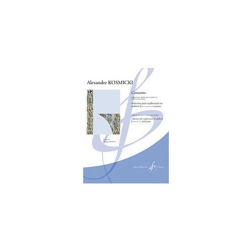BILLAUDOT KOSMICKI ALEXANDRE - CONCERTO - EUPHONIUM OU SAXHORN ET PIANO