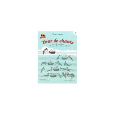 BILLAUDOT TOUR DE CHANTS VOLUME 5 - LECTURE CHANTEE