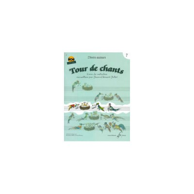 BILLAUDOT JOLLET JEAN-CLEMENT - TOUR DE CHANTS VOLUME 17 + CD - FORMATION MUSICALE