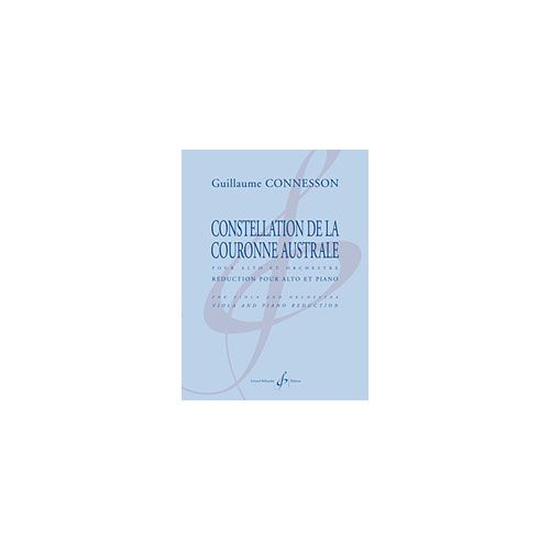 BILLAUDOT CONNESSON GUILLAUME - CONSTELLATION DE LA COURONNE AUSTRALE - ALTO ET PIANO
