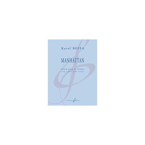 BILLAUDOT BEFFA KAROL - MANHATTAN - ALTO ET PIANO