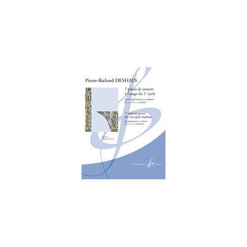 BILLAUDOT DESHAYS P.R. - 7 PIECES DE CONCERTS A L'USAGE DU 1ER CYCLE - EUPHONIUM ET PIANO