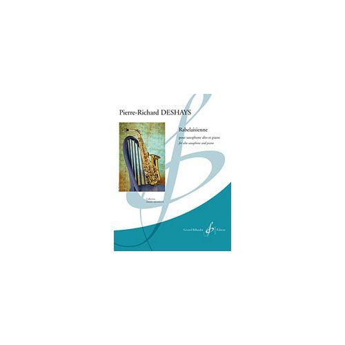 BILLAUDOT DESHAYS P.R. - RABELAISIENNE - SAXOPHONE ALTO ET PIANO