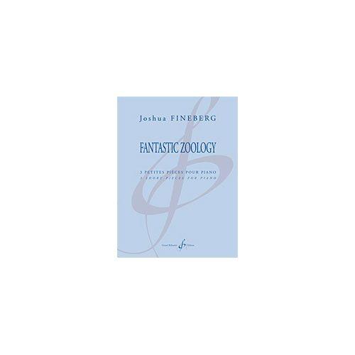 BILLAUDOT FINEBERG J. - FANTASTIC ZOOLOGY - PIANO