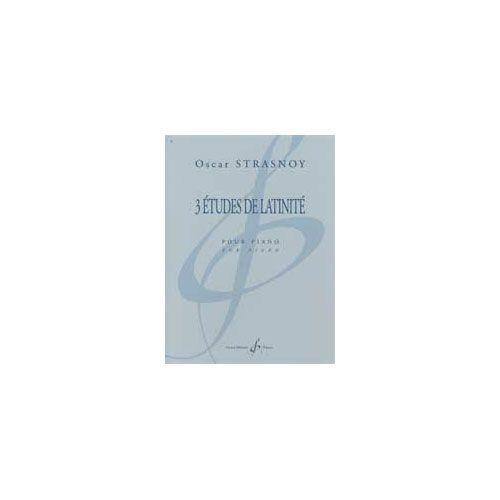 BILLAUDOT STRASNOY OSCAR - 3 ETUDES DE LATINITE - RECUEILS ET OEUVRES SEPAREES