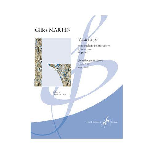BILLAUDOT MARTIN GILLES - VALSE TANGO - EUPHONIUM OU SAXHORN ET PIANO
