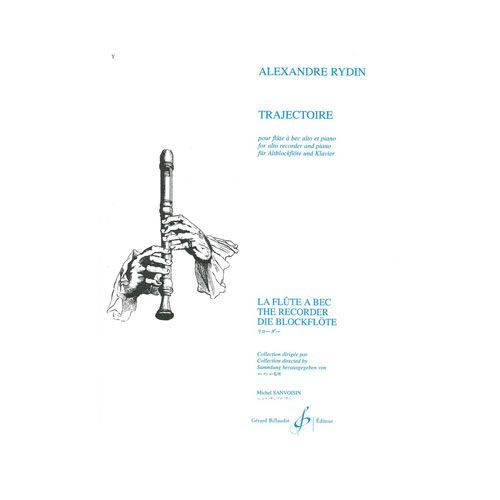 BILLAUDOT RYDIN ALEXANDRE - TRAJECTOIRE - FLUTE A BEC ET PIANO
