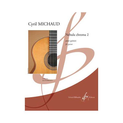 BILLAUDOT MICHAUD CYRIL - NEBULA CHROMA 2 - GUITARE SEULE