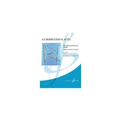 BILLAUDOT BERBIGUIER - 18 ETUDES - FLUTE