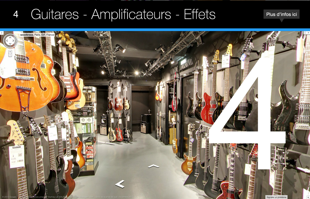Woodbrass Store Guitares