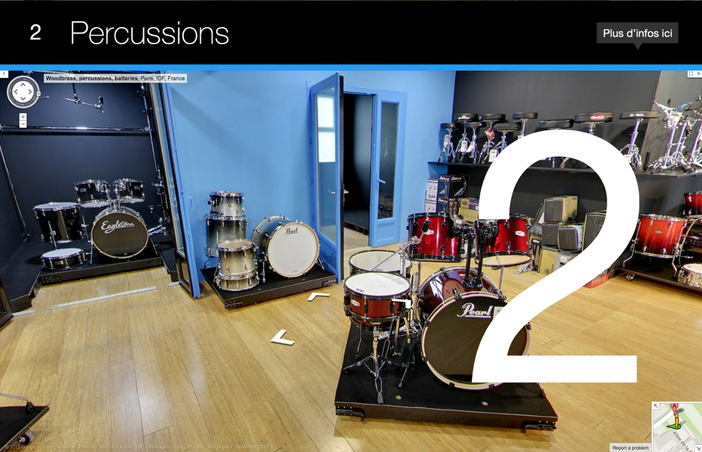 Woodbrass Store Percussions
