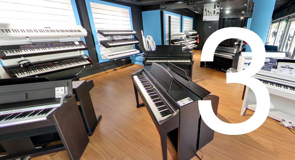 Woodbrass Store Pianos - Claviers