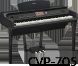 Yamaha clavinova clp 500 cvp 700 for Yamaha clavinova cvp 705