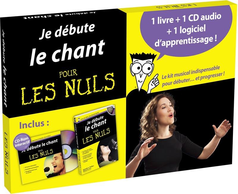 Je Debute Le Chant Pour Les Nuls - Kit Avec Logiciel D'apprentissage + Cd-audio + Manuel