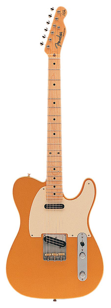 Fender Danny Gatton Signature Telecaster, Maple , Frost Gold