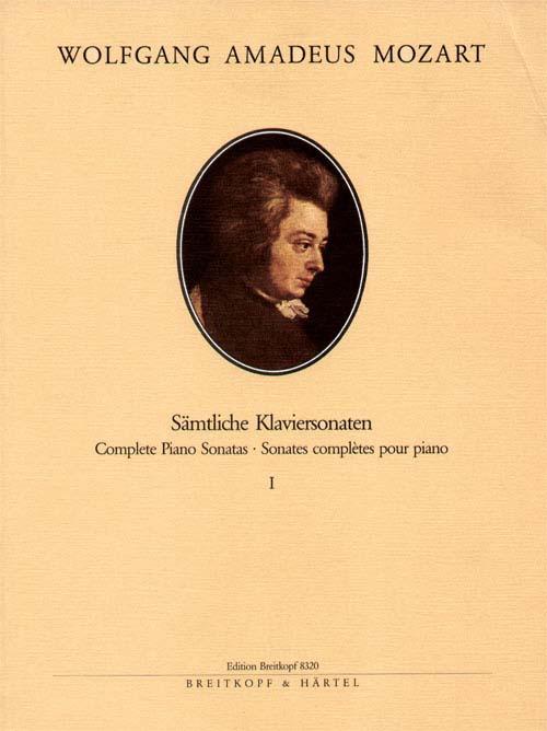 Mozart Wolfgang Amadeus - Klaviersonaten, Band 1: 1-10 - Piano