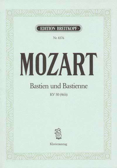 Mozart Wolfgang Amadeus - Bastien Und Bastienne Kv 50 - Piano
