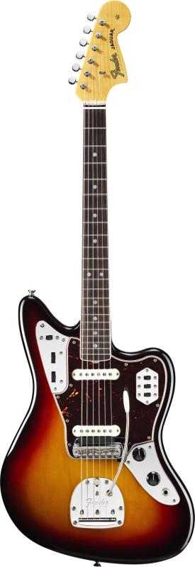 Fender American Vintage 65 Jaguar Round Lam Sunburst + Etui
