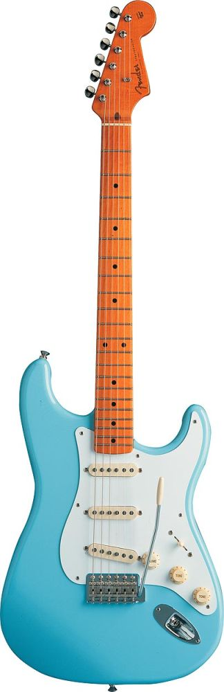 Fender Stratocaster Mexican Classic Series 50s Daphne Blue + Housse