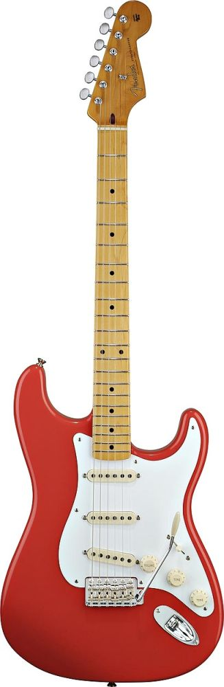 Fender Stratocaster Mexican Classic Series 50s Fiesta Red + Housse