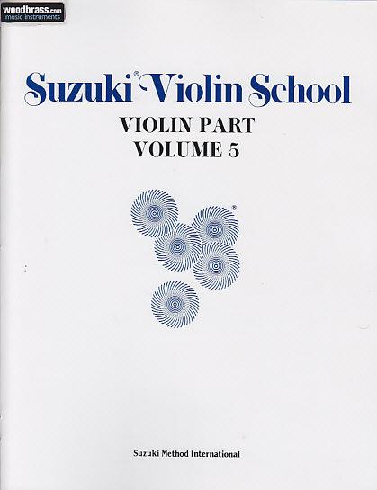 Suzuki Violin School Violin Part Vol.5 - Violon
