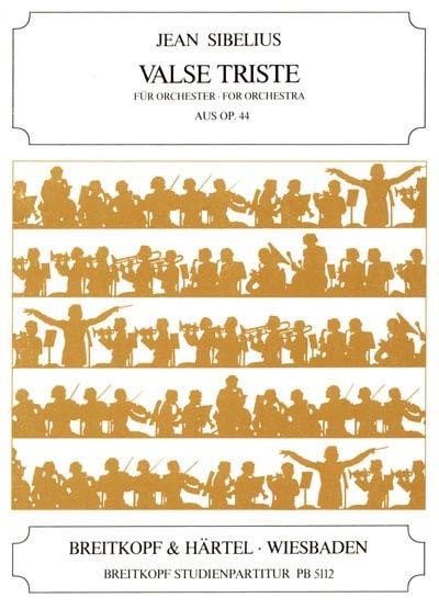 Sibelius Jean - Valse Triste Aus Op. 44 - Orchestra