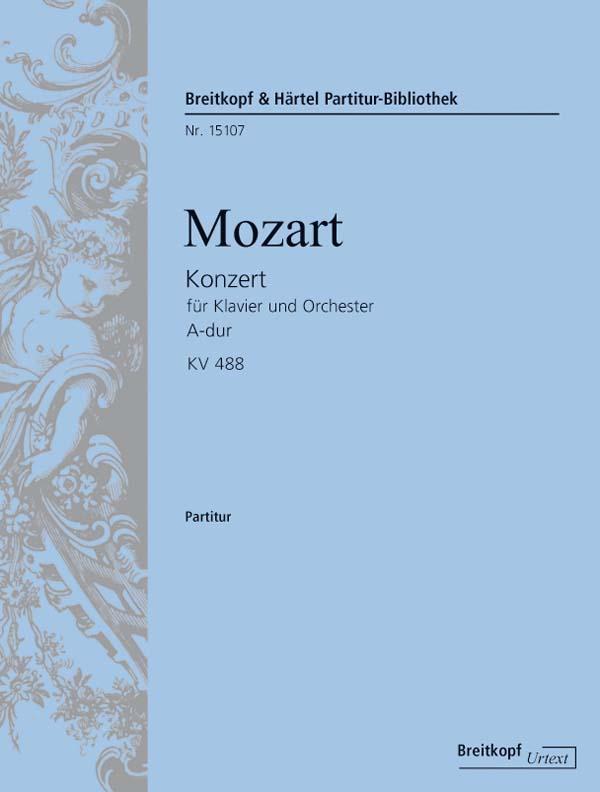 Mozart Wolfgang Amadeus - Klavierkonzert 23 A-dur Kv 488 - Piano, Orchestra