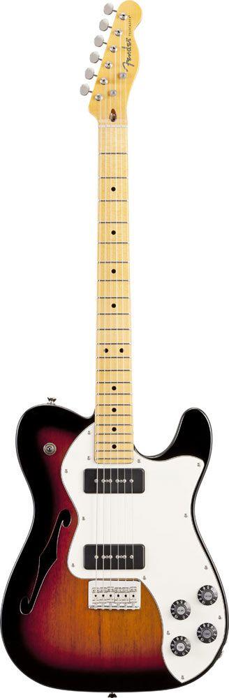 Fender Telecaster Modern Player Thinline Sunburst
