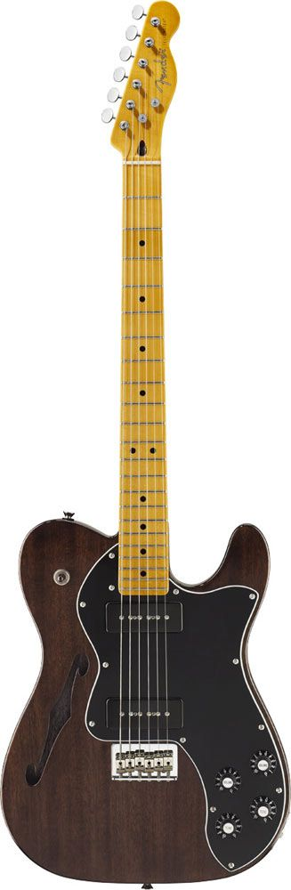 Fender Telecaster Modern Player Thinline Black Trans