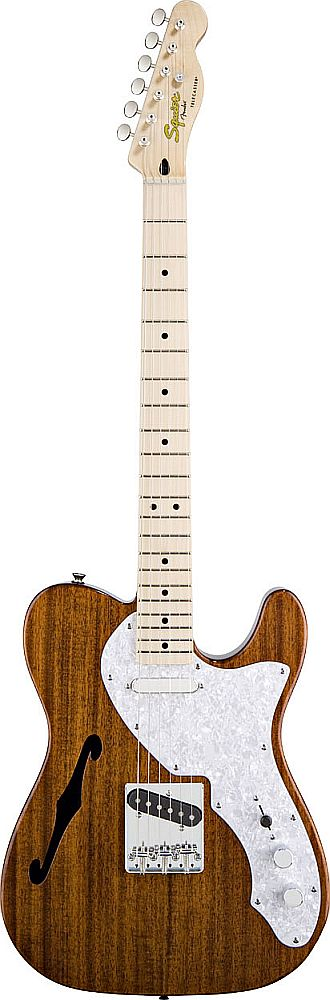 Squier By Fender Telecaster Thinline Natural Classic Vibe