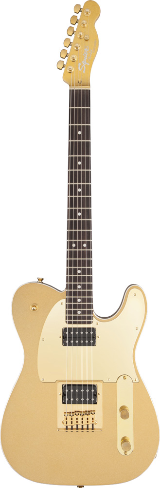Squier By Fender Telecaster John Five J5 Frost Gold Artist Signature