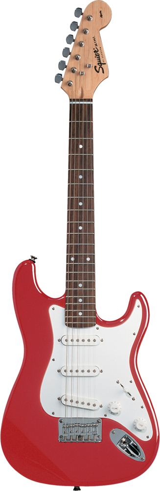 Squier By Fender Stratocaster Mini Torino Red Affinity